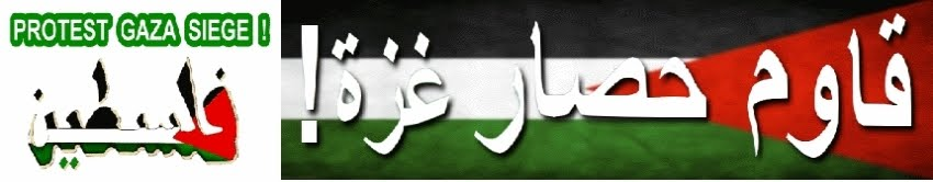 Protest Gaza Siege!