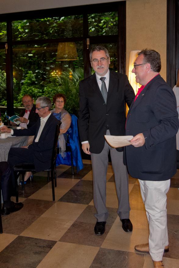 Luis Anselmo Suárez Alvarez y Ángel Pérez
