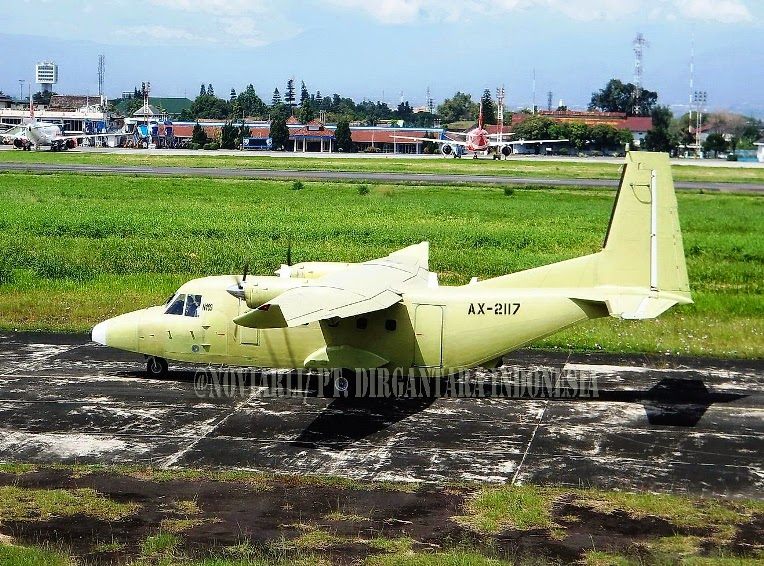 Pesawat NC-212-400 Buatan PT.DI Jalani Uji Terbang