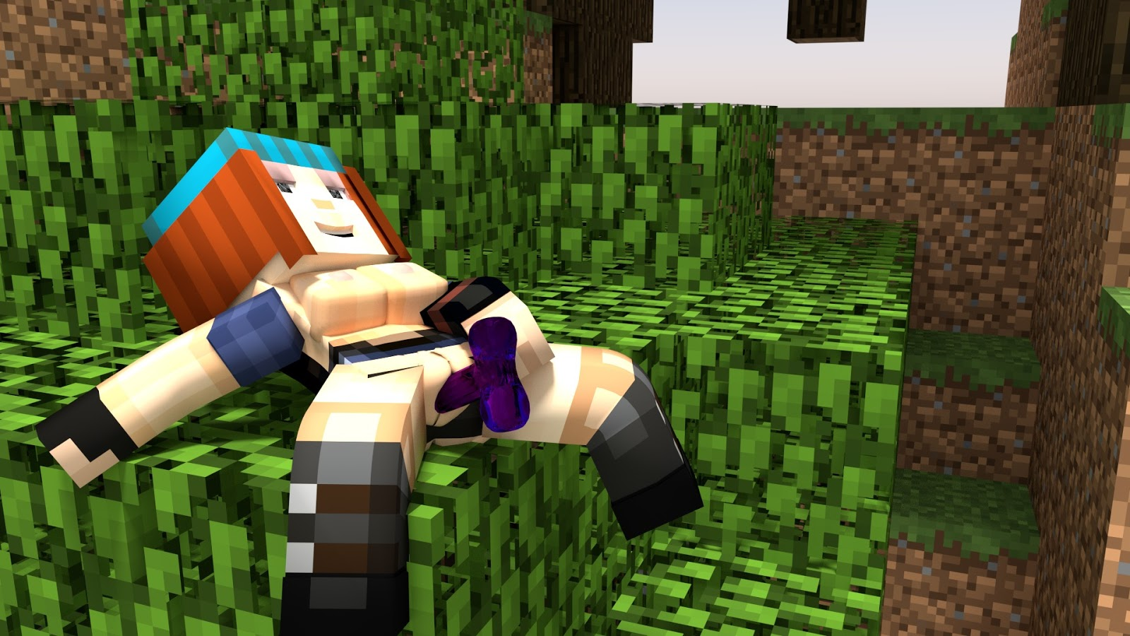The scene sexy minecraft porn don't just