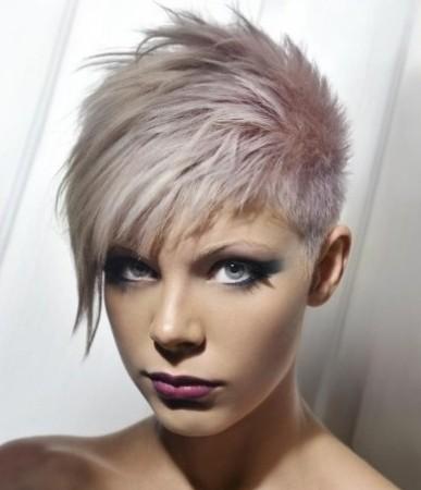 Peinados de Moda: Nuevas Ideas de Pelo Corto Asimétrico 2013