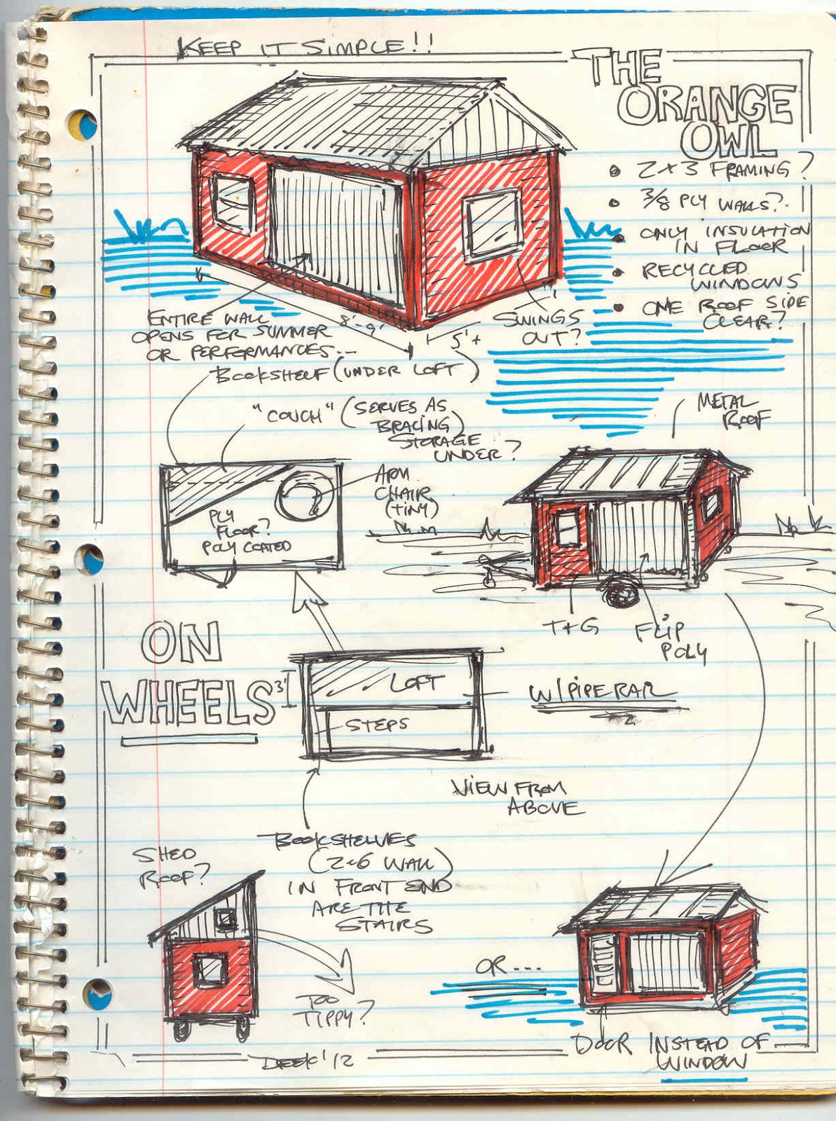 The Orange Owl Tiny House