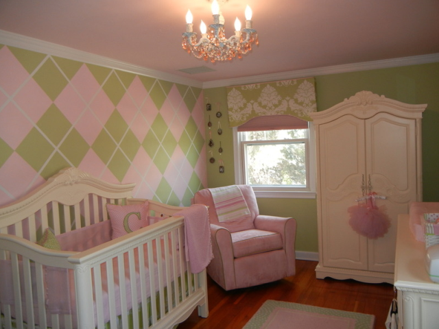 Creative wall painting ideas for baby nursery Nursery wall ideas