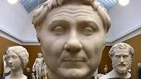 Pompeyo el Grande. Busto en mármol de la Ny Carlsberg Glyptotek, de Copenhague, Dinamarca.