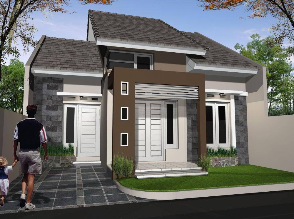 Contoh Model Rumah Minimalis Terbaru  Yang Elegan Dan Modern  Rumah Minimalis