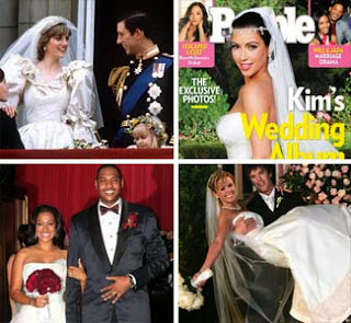 Famous televised weddings