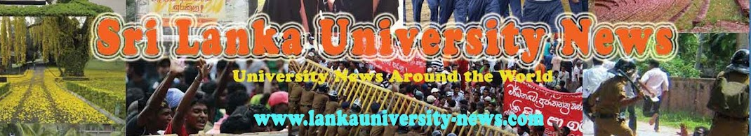 Sri Lanka University &amp; Campus News -      (Higher Education)