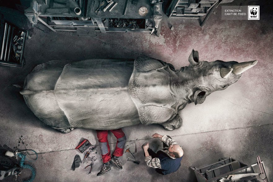 WWF: Extinction Can't Be Fixed - 33 Powerful Animal Ad Campaigns That Tell The Uncomfortable Truth