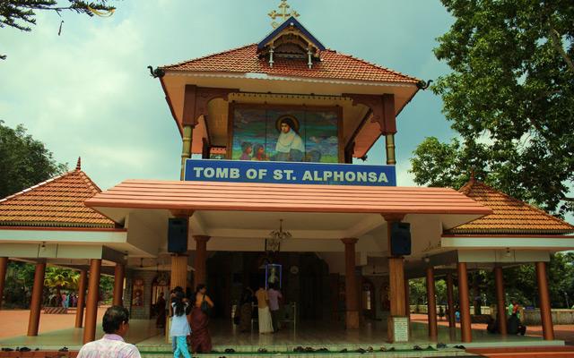 Saint-Alphonsa's Tomb Bharananganam