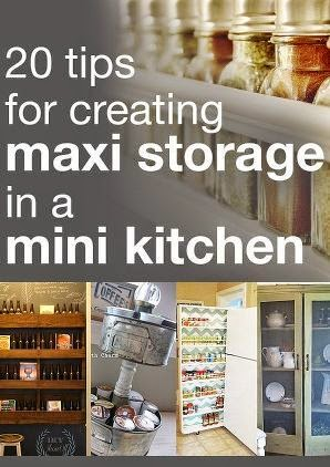 20 Tips For Creating Maxi Storage In A Mini Kitchen
