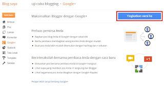 Koneksi Blogspot dan Google+