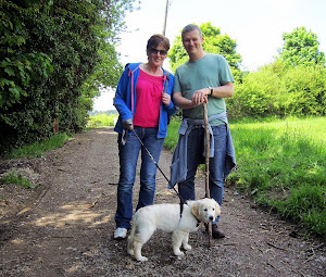 Walking with mum and dad