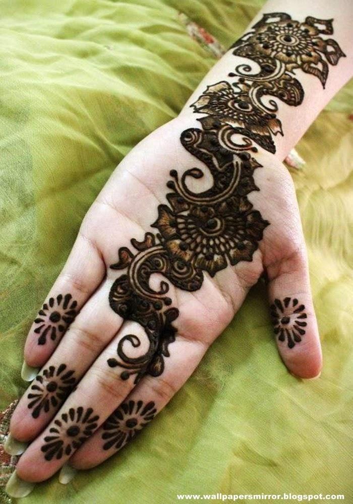 Latest bridal mehndi designs