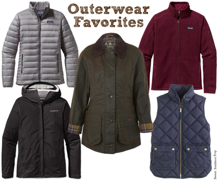 Favorite Outerwear