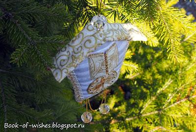 Новогодние часики на елку