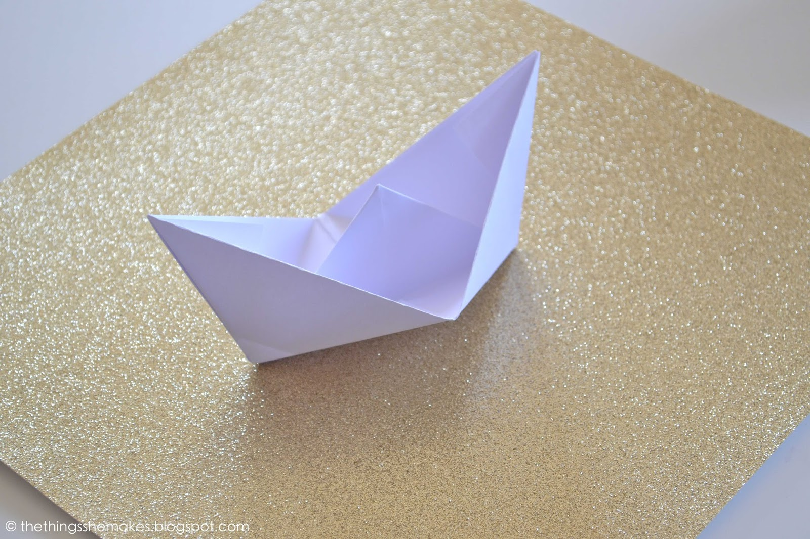 how to make a origami boat out of paper