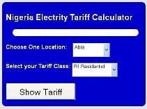 Nigeria Electricity Pricing