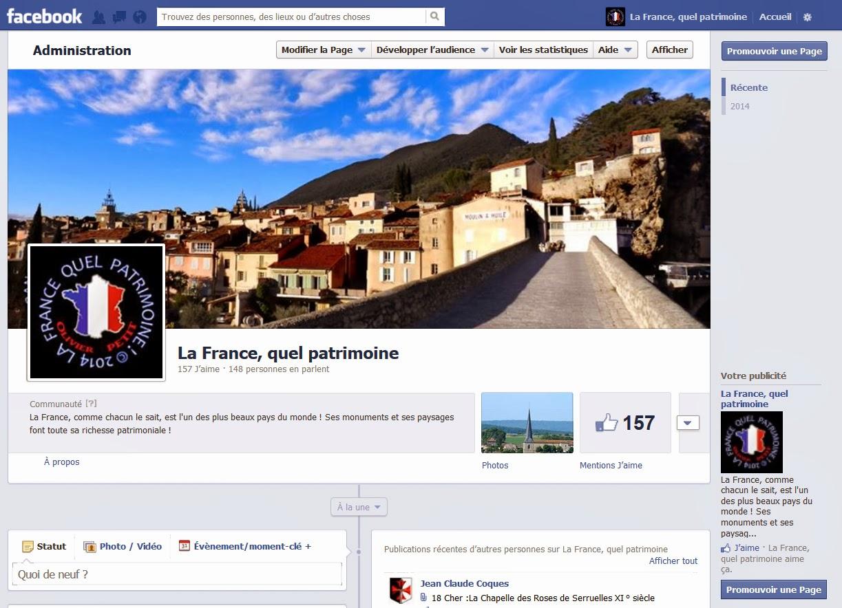 https://www.facebook.com/lafrancequelpatrimoine