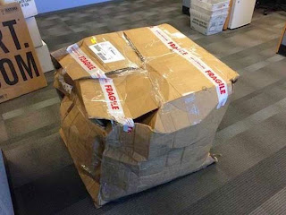 Evidence of Courier Companies Delivery