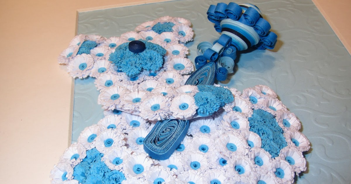Quilled Teddy