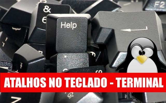 atalhos para o terminal Linux