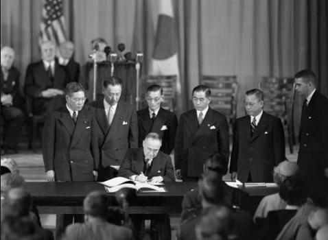 Perjanjian Pasca Perang Dunia II