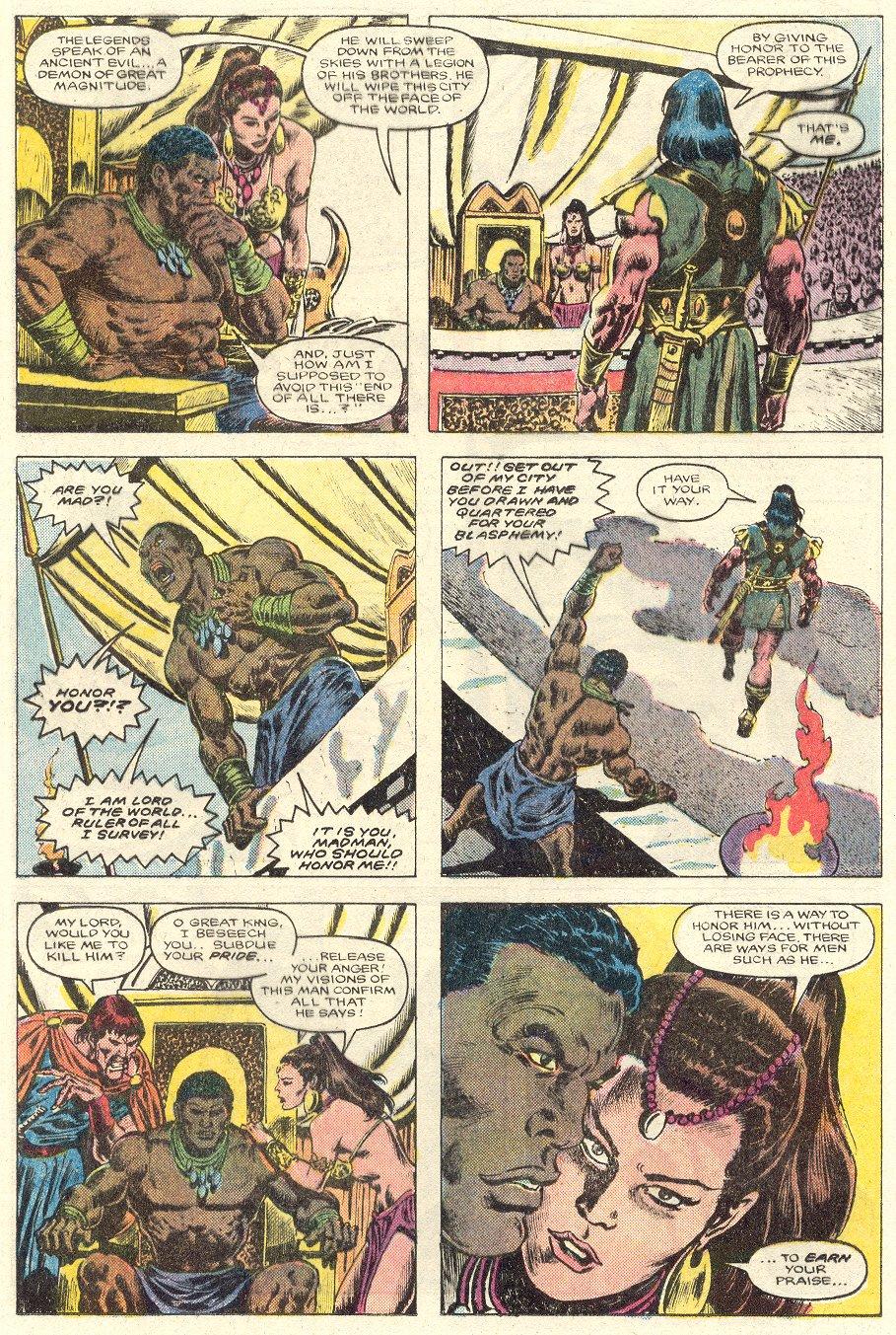 Conan the Barbarian (1970) Issue #181 #193 - English 11