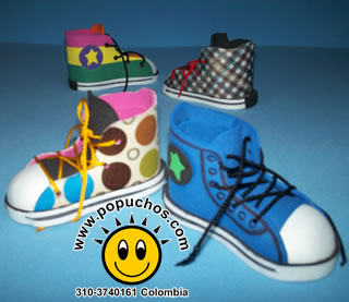 Recordatorios para Baby Shower: Zapaticos Popuchos Converse All Star