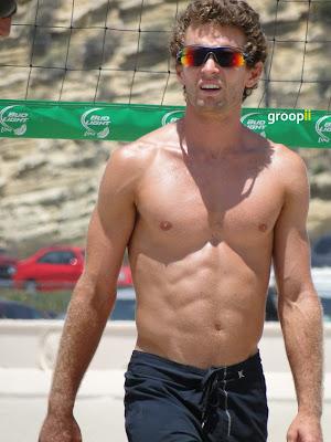 Andy McGuire Shirtless at the NVL Malibu 2011
