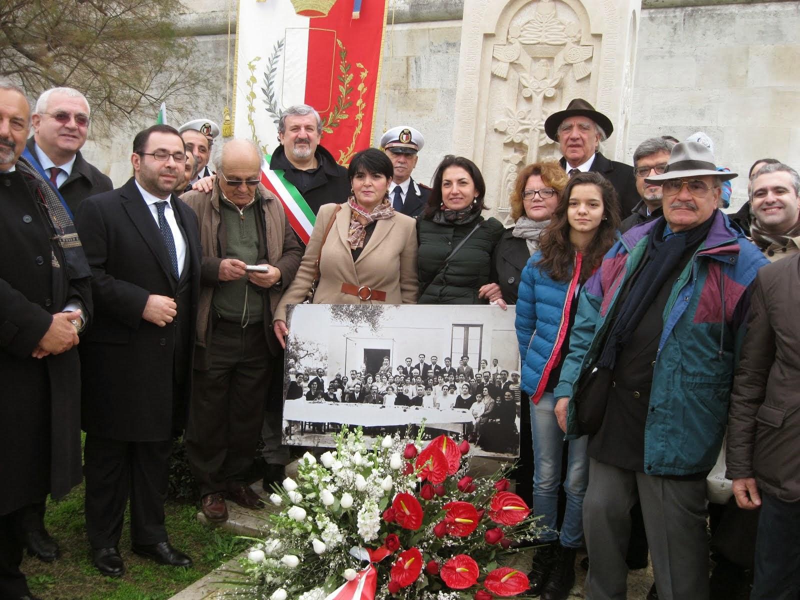 Un momento dell'anniversario-Croce di Pietra, Armena