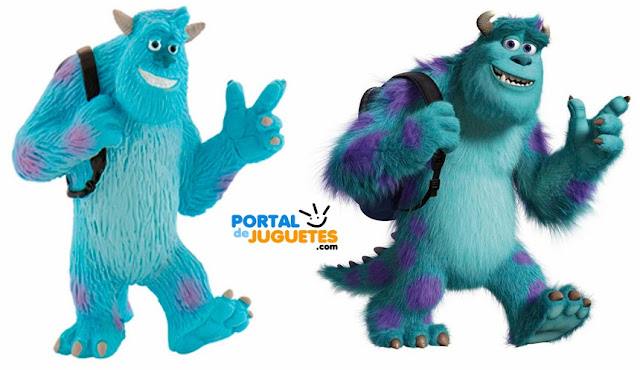 figura sulley monstruos university bullyland