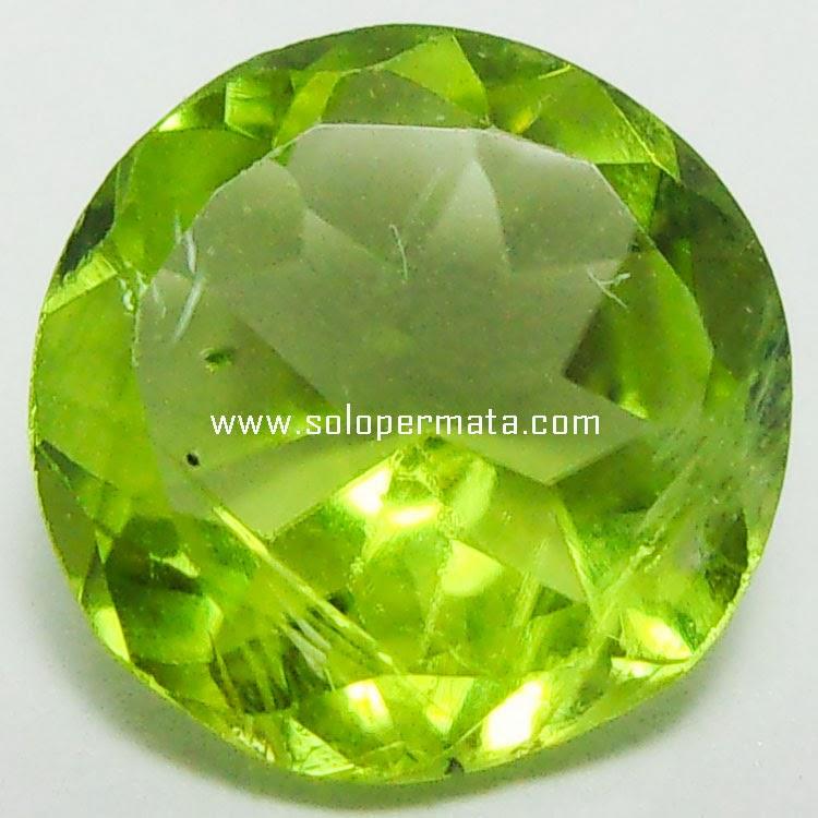 Batu Permata Green Peridot - 25A03