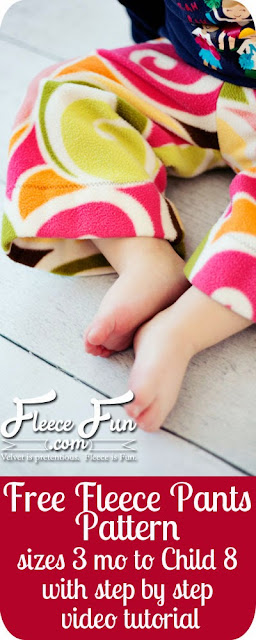 Knit baby pants sewing tutorial