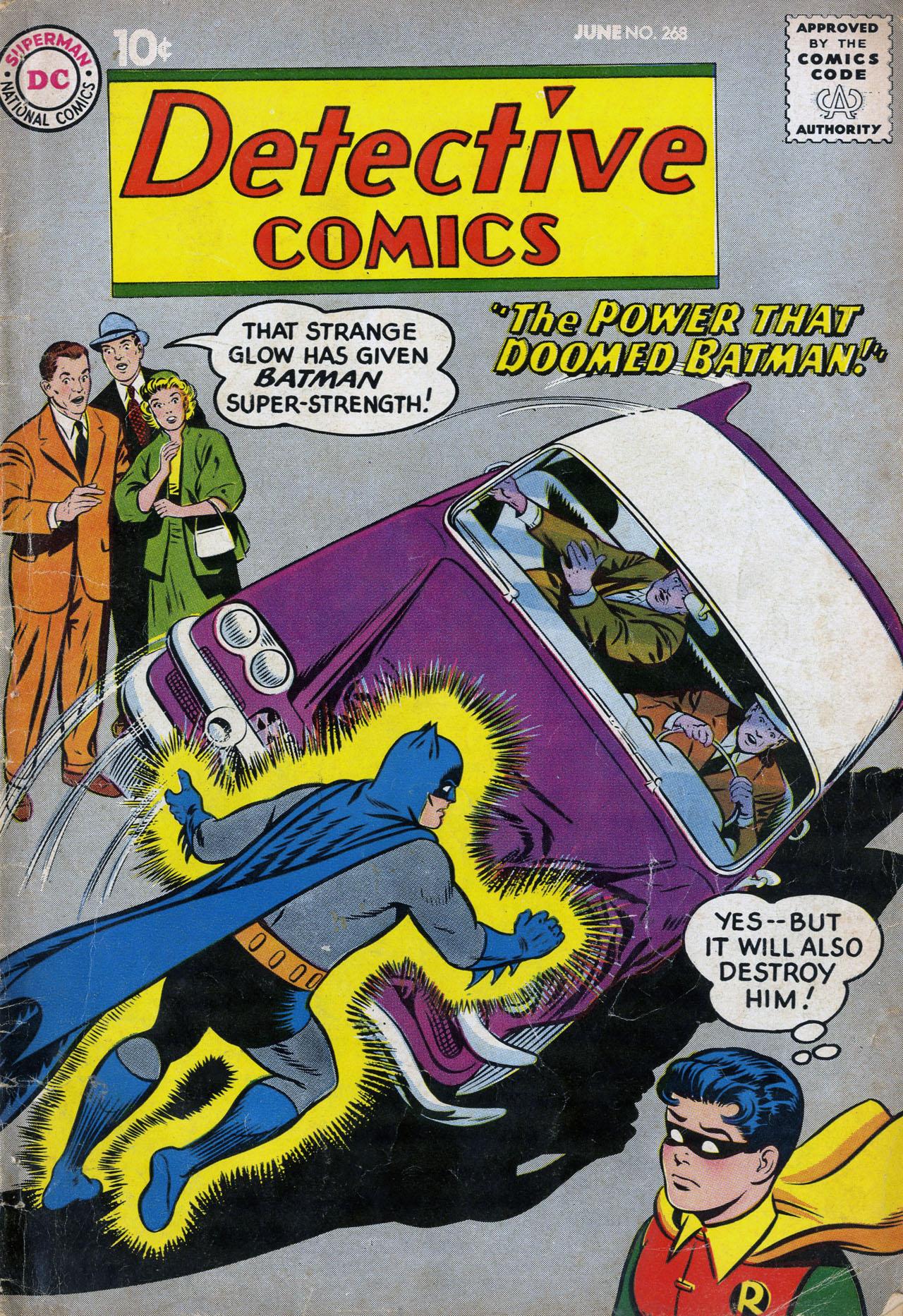Detective Comics (1937) 268 Page 1