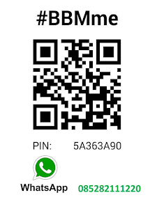 Contact via BBM / WhatsApp