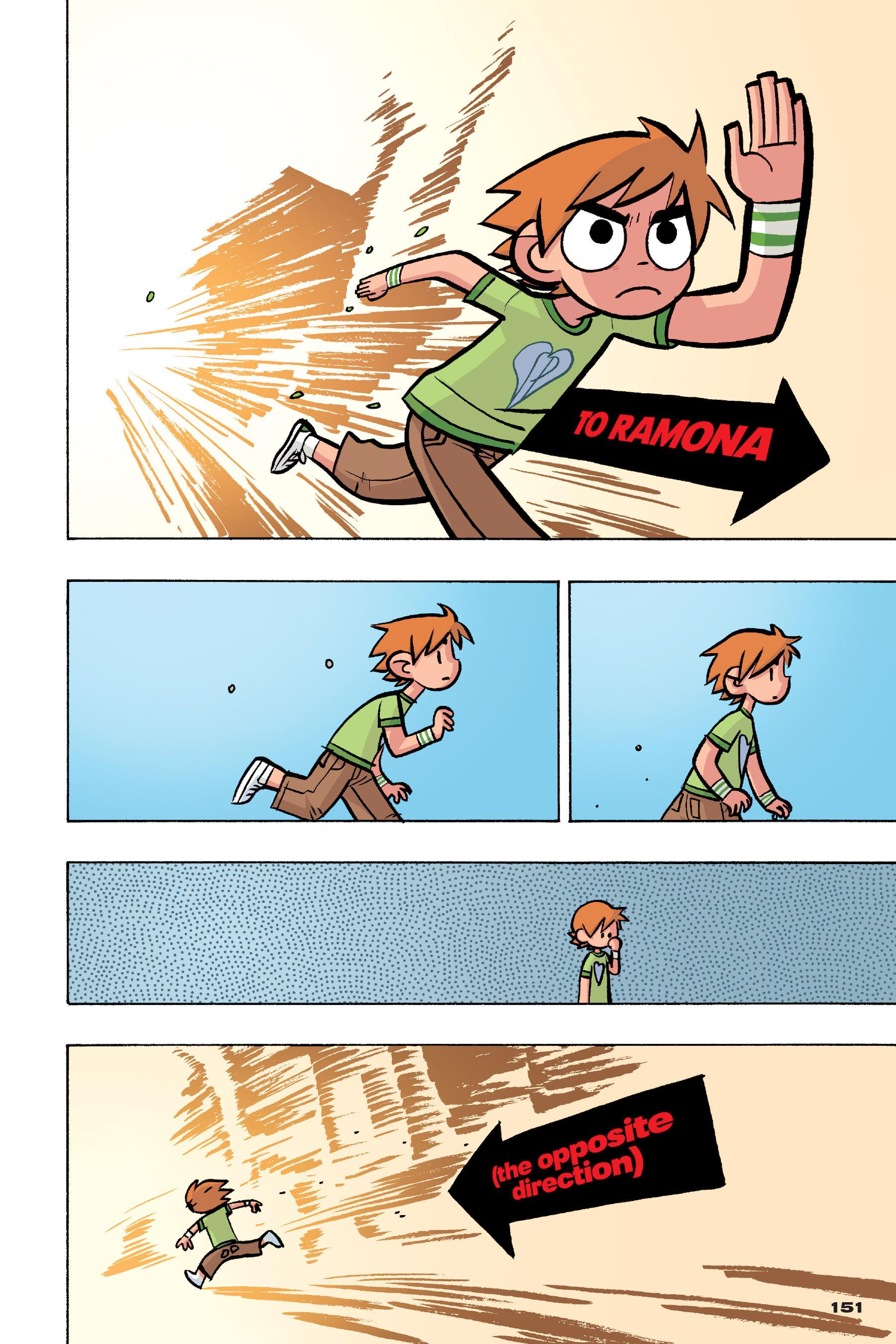 Read online Scott Pilgrim comic -  Issue #4 - 148