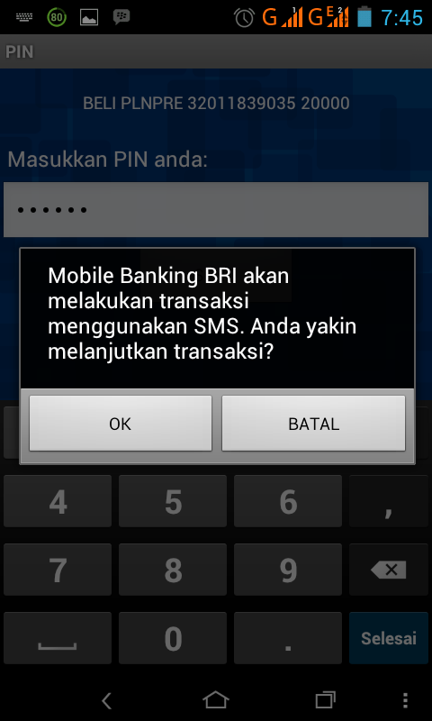 Beli Token Pln Sms Banking Bri Ebay Coins Canada Questions
