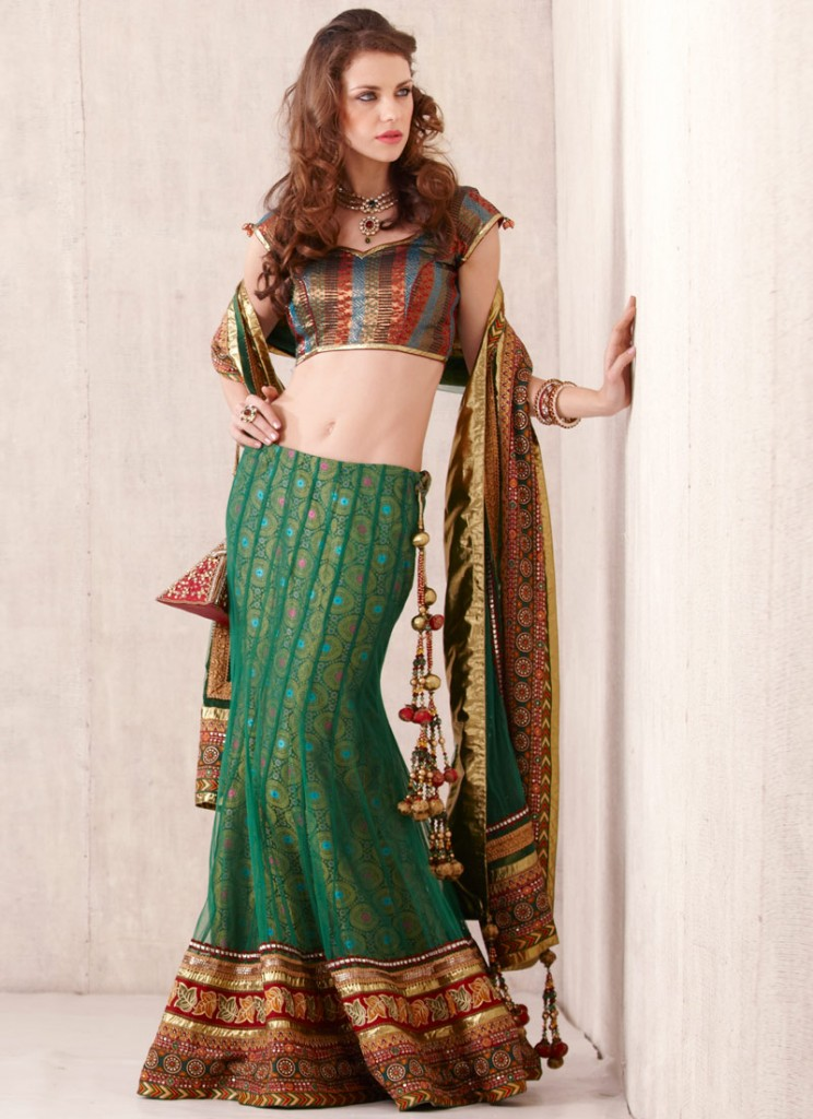 Hairstyles Cuts Tips Indian Party Wear Lehenga
