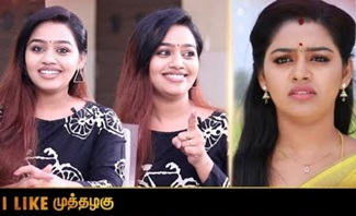 Actress Gayathri Interview | Muthazhagu in SM Serial