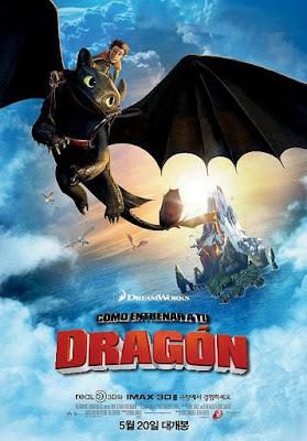 Cartel promocionale de Cómo entrenar a tu Dragón