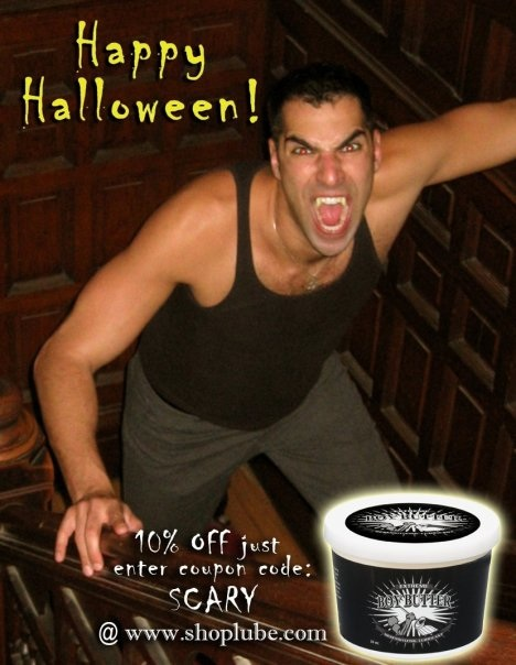 Scary Sale from Boy Butter for Halloween only