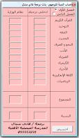 برنامج حساب المعدل التراكمي Programme Hesab Account Rate Cumulative