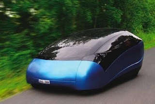 Mobil Masa Depan Dengan Desain Futuristik