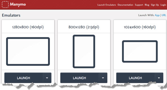 Prueba apps de Android en un navegador
