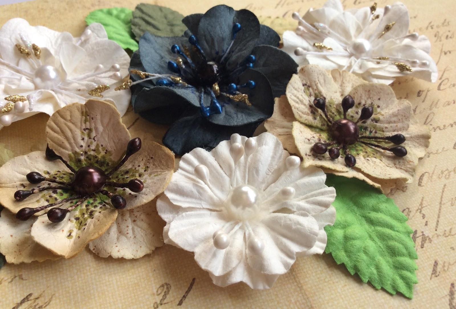 Как сделать цветок из бумаги для скрапбукинга своими руками? 20
