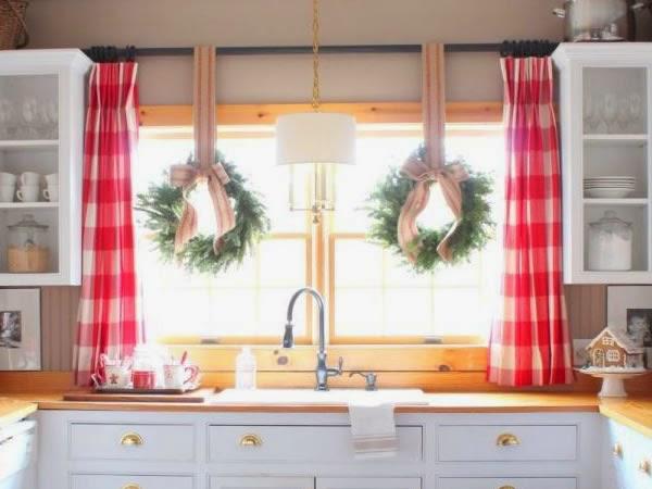 Decoraci n decorar la cocina para navidad for Como amueblar mi cocina