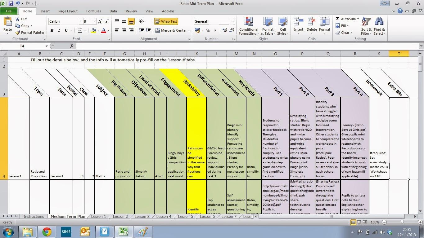 Minute Medium Term Plan Minplan Teach Tech Trussell - 5 minute lesson plan template