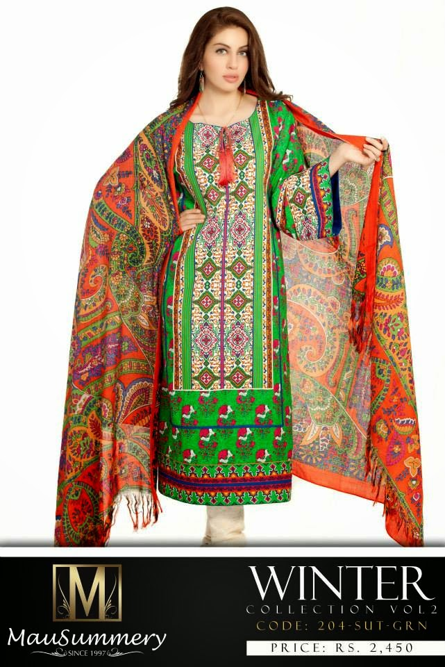 Mausummery Latest Winter Dress Collection Vol 2