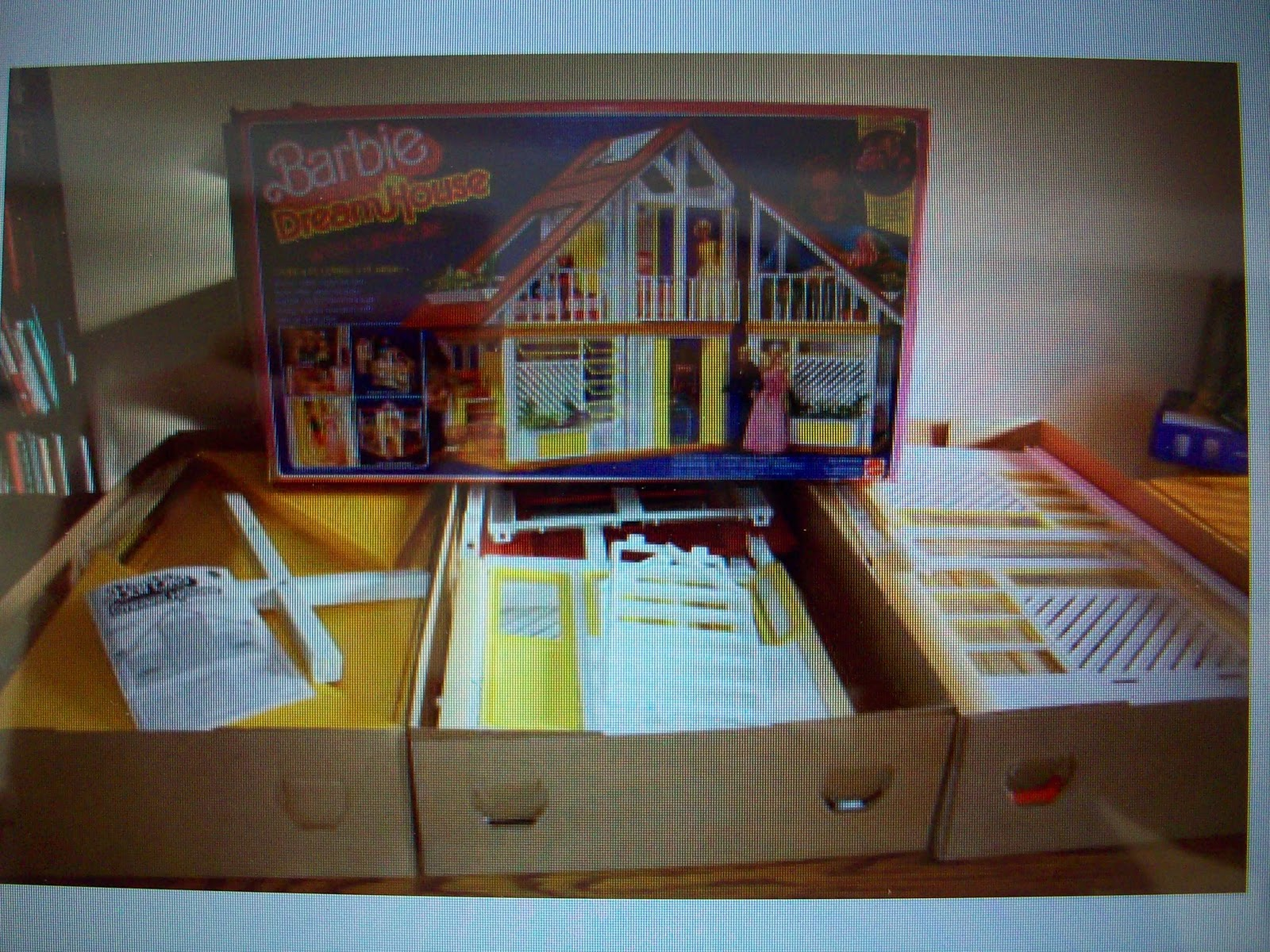 barbie dream house instructions 1978