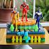 Jelly Cake Ultraman buat Aqil 4 Tahun